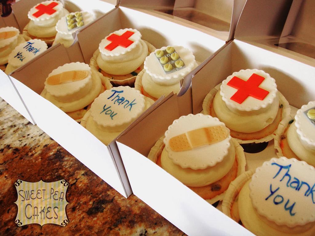 Nurse Cupcakes by Susie Villa-Soria