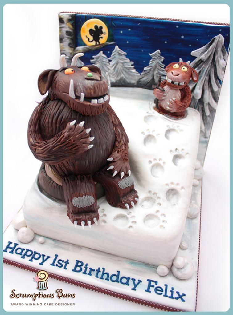 Cake Scene : Gruffalo's Child by Scrumptious Buns