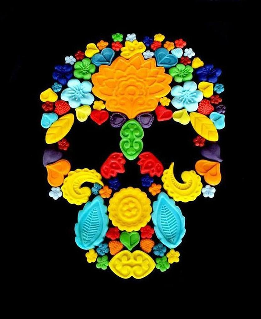 Hippie Skull by miettes