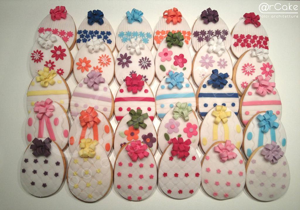 easter cookies! by maria antonietta motta - arcake -
