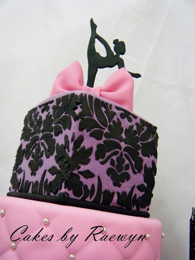 The Dancer by Raewyn Read Cake Design