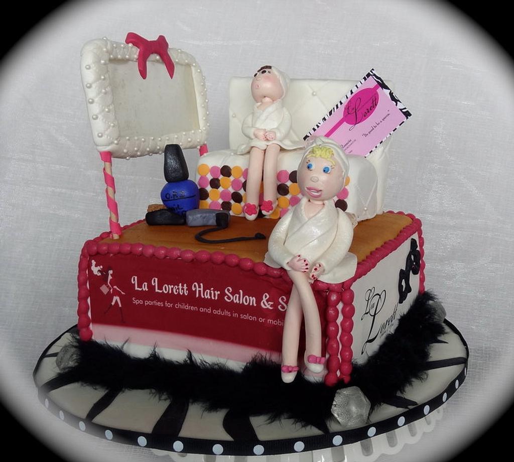 Spa Cake by Heidi