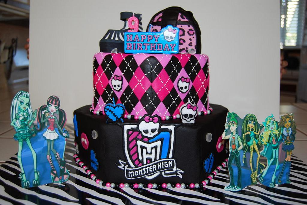 Monster High Cake by Nicole Taylor