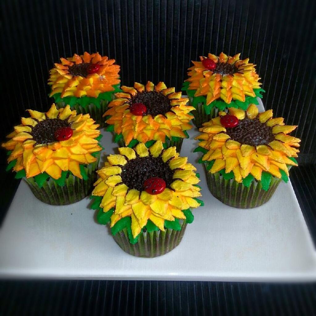Sunflowers by Katrina's Cupn Cakes