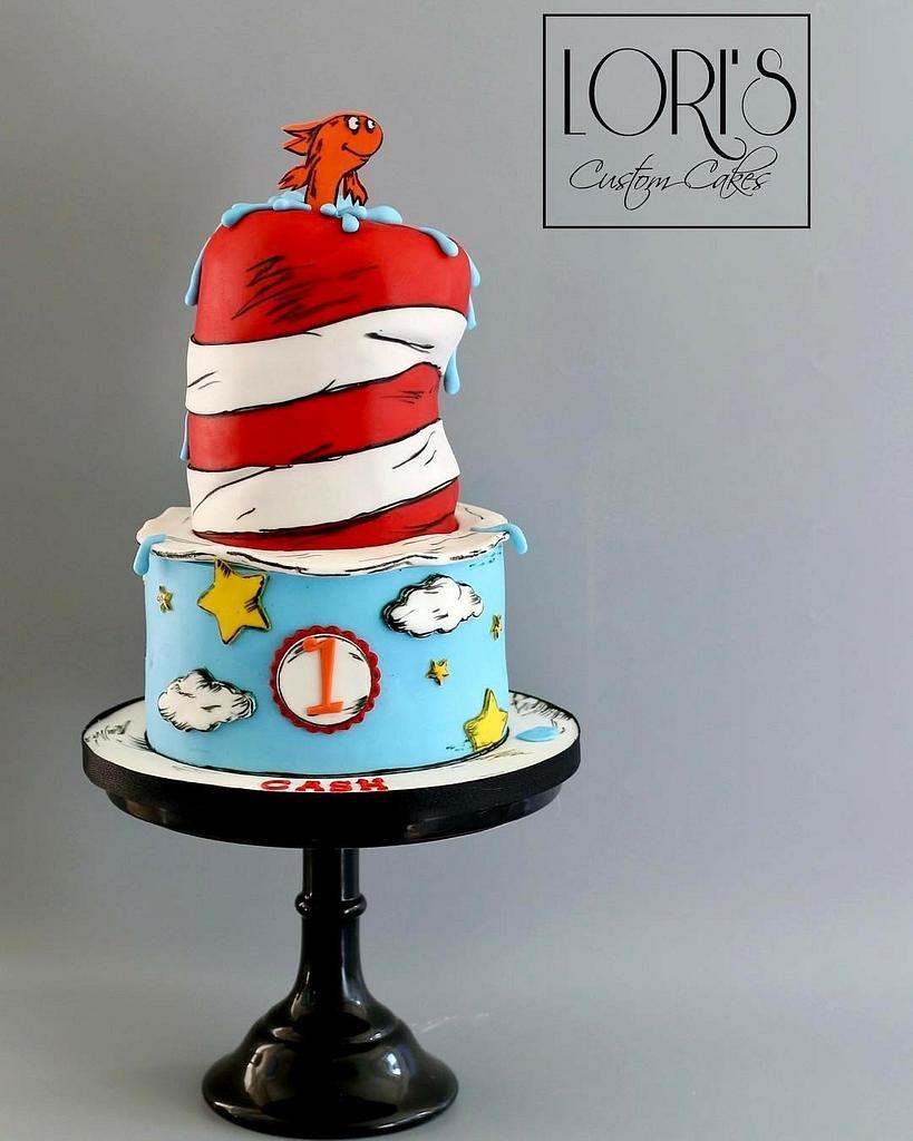 Dr. Seuss by Lori Mahoney (Lori's Custom Cakes)
