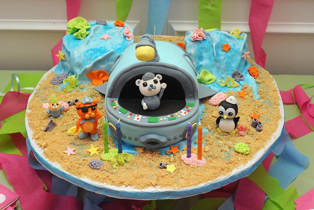 Octonauts Cake by Heather