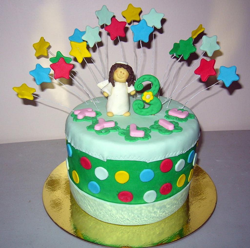 ANGEL Cake by kylieskeyk