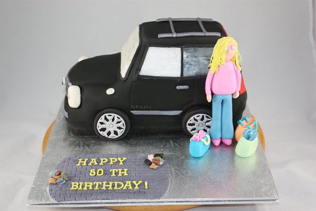 Escalade Cake by sweetonyou