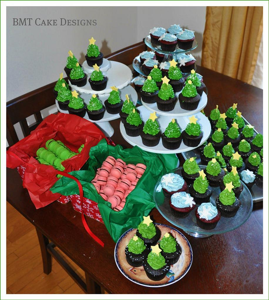 Christmas Party Dessert Table by Bobie MT