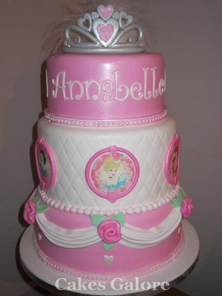 Disney princess cake by janicen17