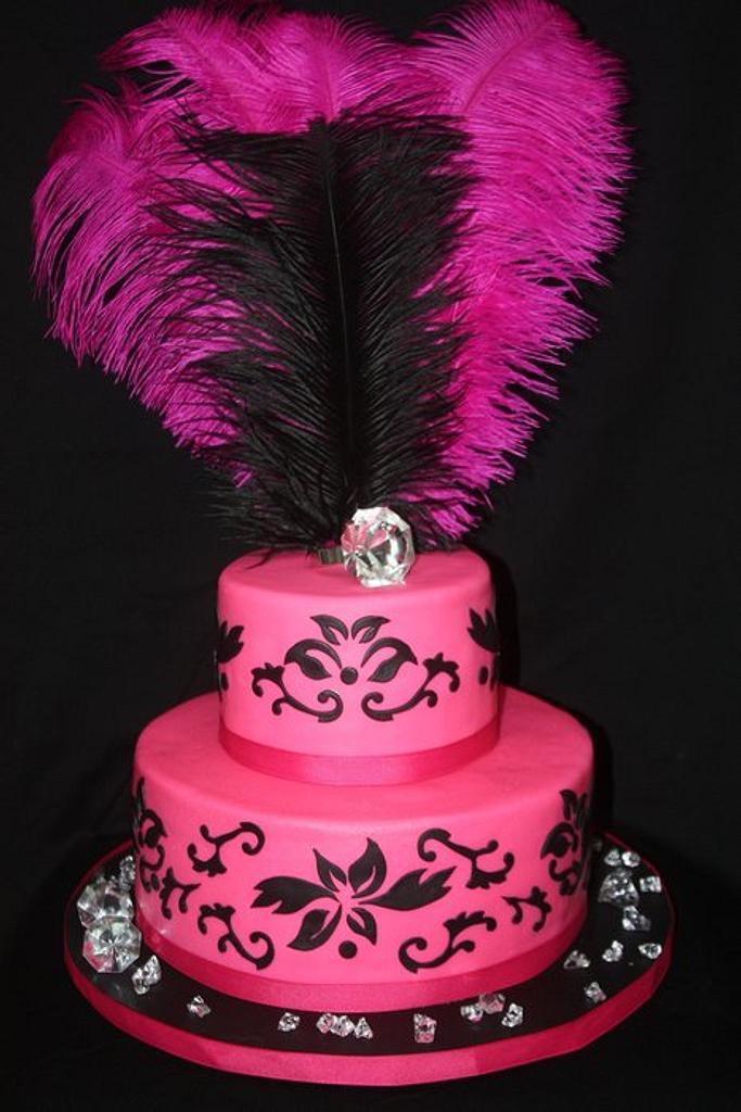 Bridal shower cake by Virginia
