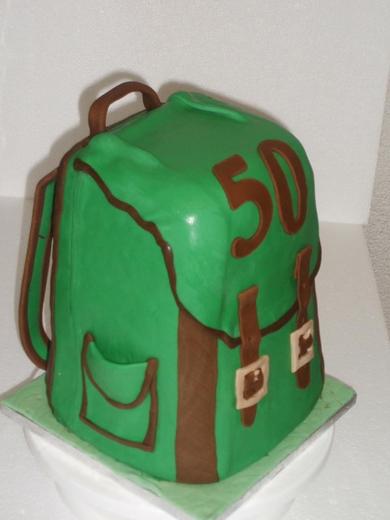 Backpack Birthday cake by Zucker-Kunst, Esi Jaeger