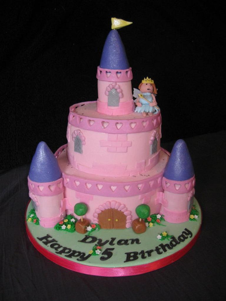 Princess Fairy Castle by Jo