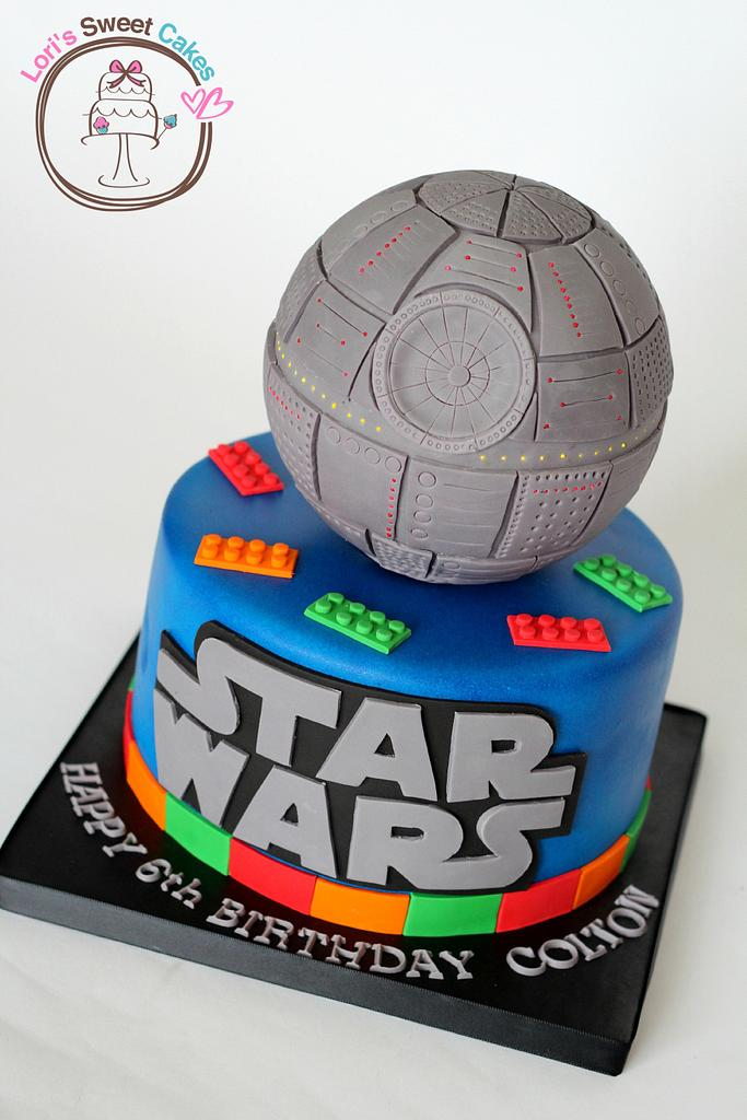 Lego Star Wars  by Lori's Sweet Cakes