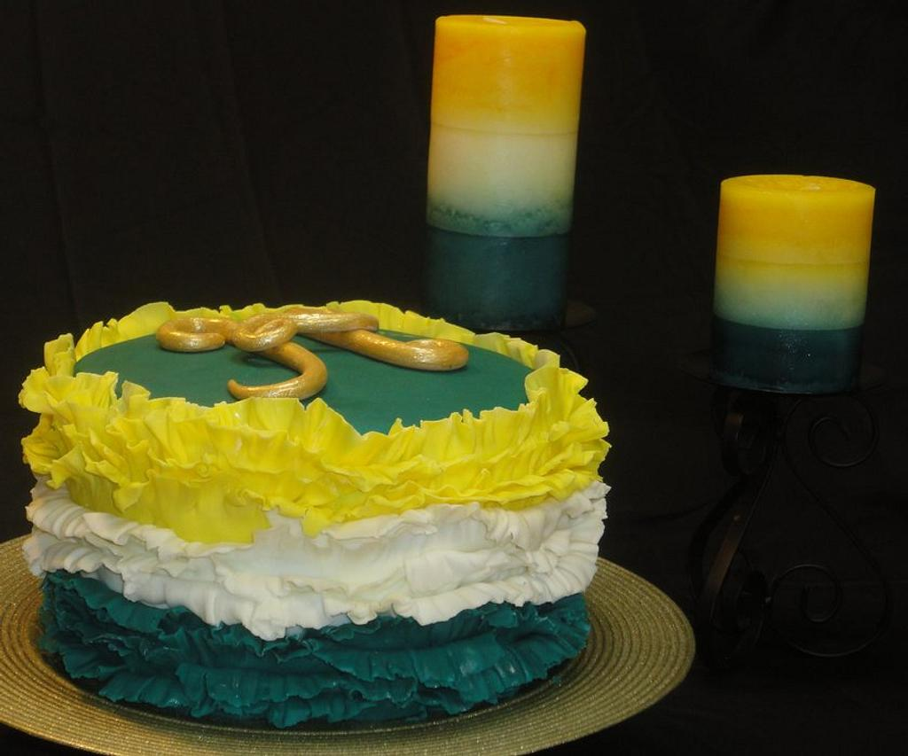 Ombre cake by Cake Sweet Cake By Tara