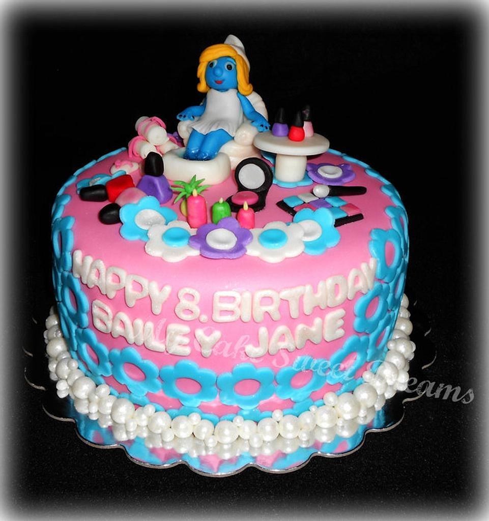 Spa Birthday Cake by My Cake Sweet Dreams