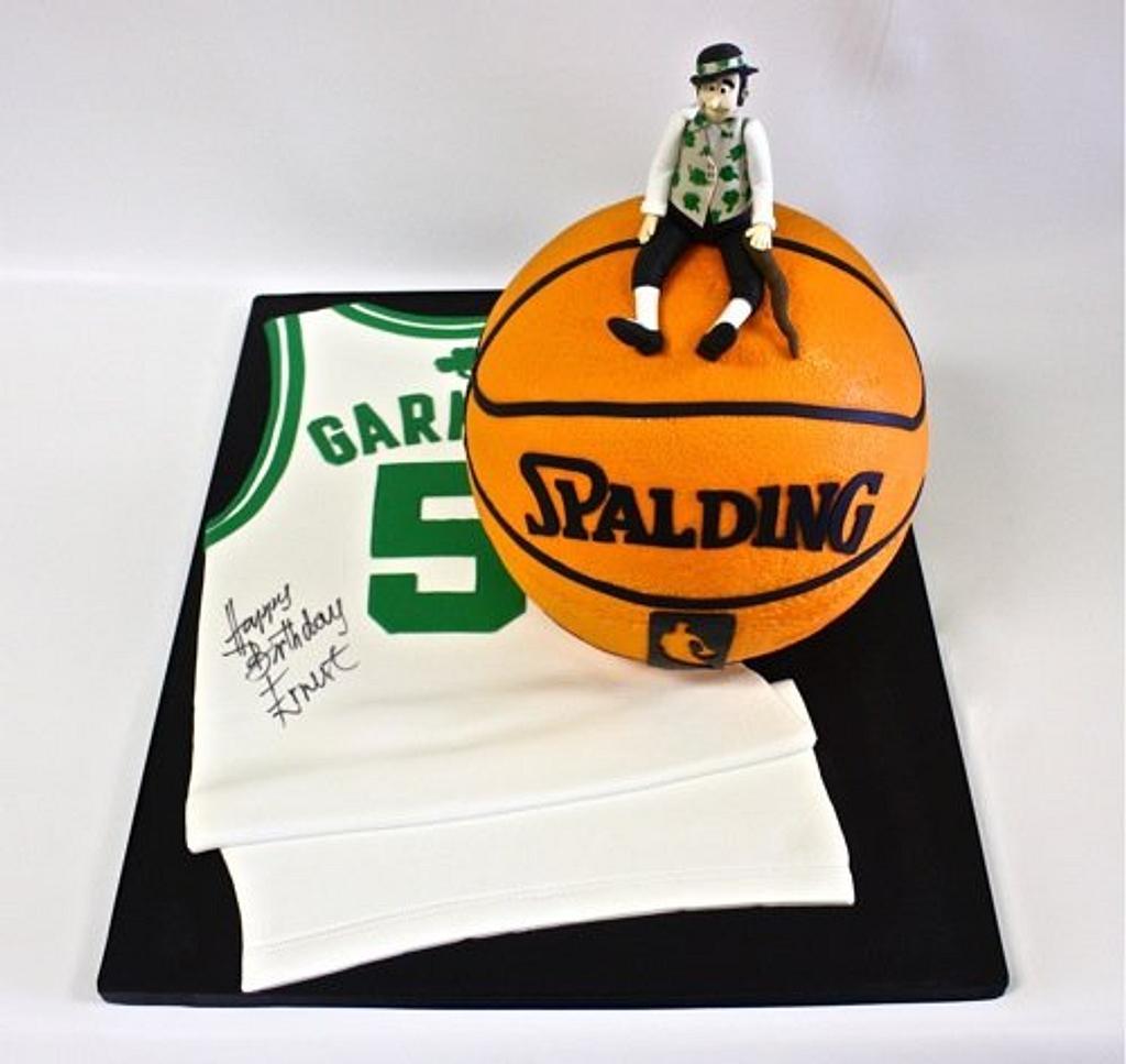 Boston Celtics Aficionado by Berliosca Cake Boutique