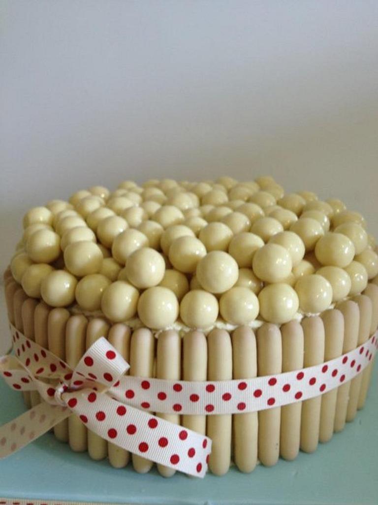 White Malteser Cake by Shereen