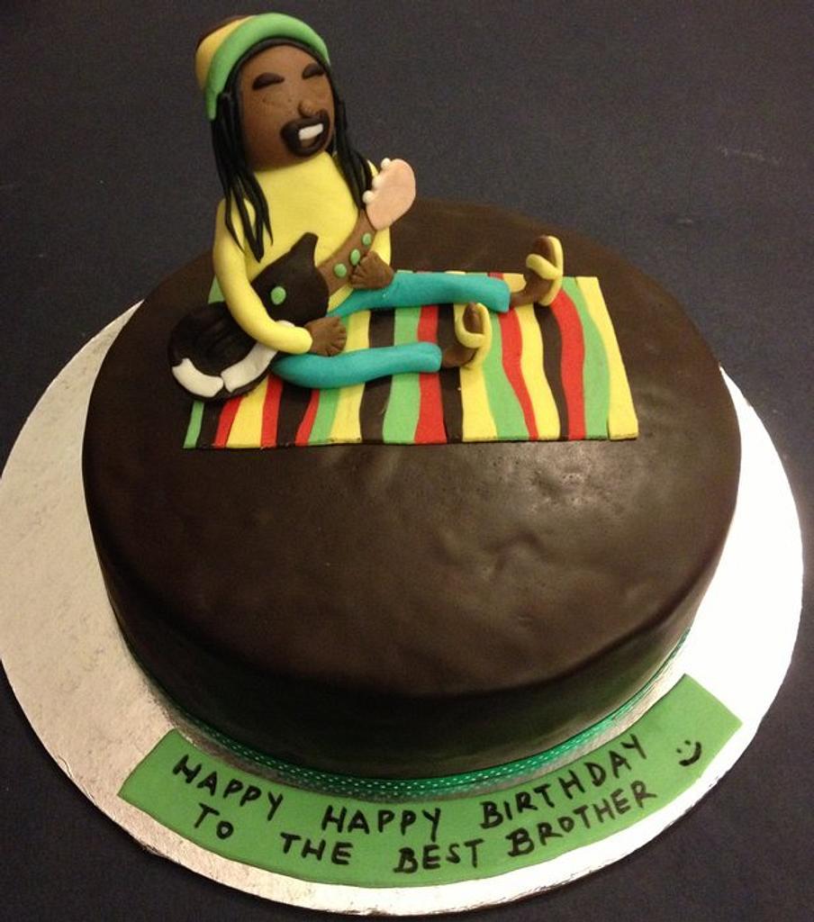 Bob Marley Cake by devinasoni