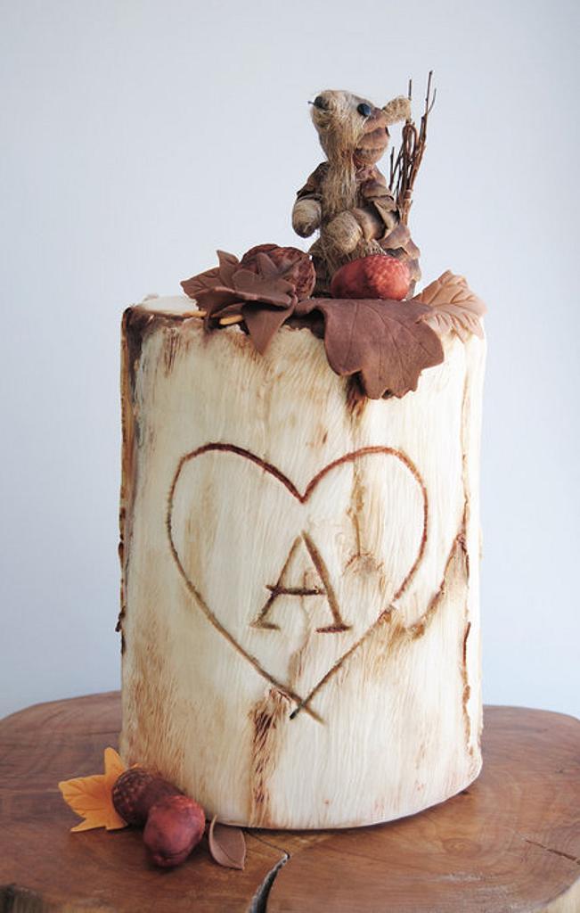 Autumn cake by Viva la Tarta