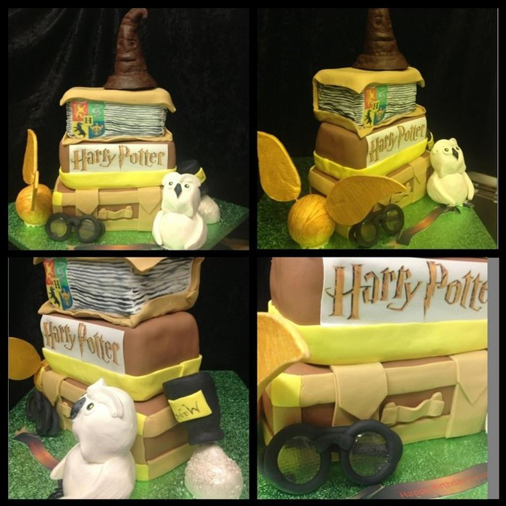Harry potter cake nightmare of a day by Kirstie's cakes