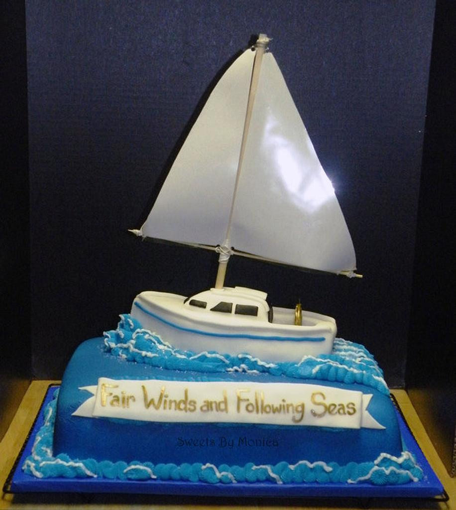 Fair Winds and Following Seas by Sweets By Monica