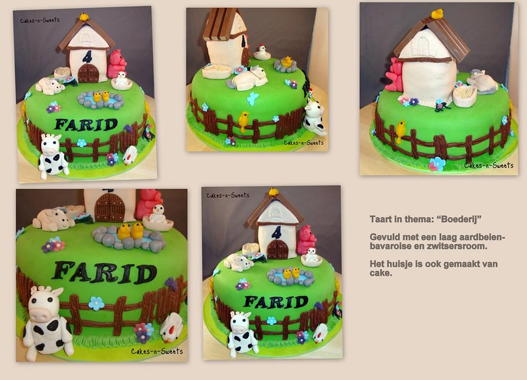 Farm Cake by Cakes-n-Sweets