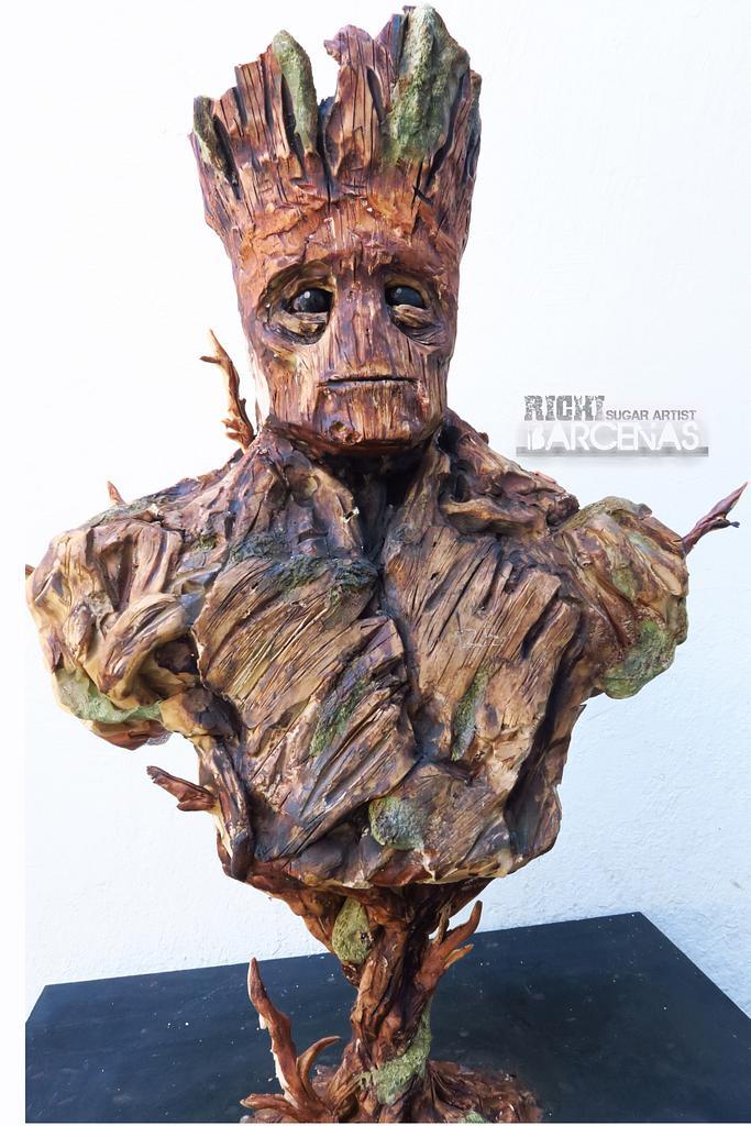 Im Groot (sculpturecake)  by Richi Barcenas