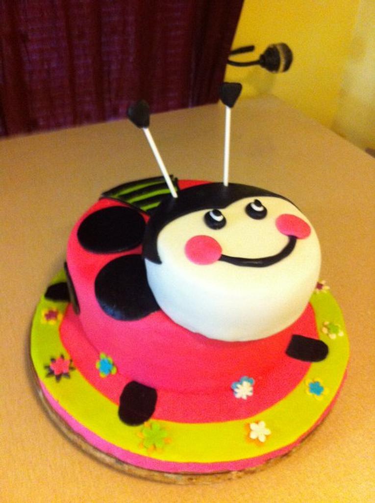 Lady Bug Cake by Dana