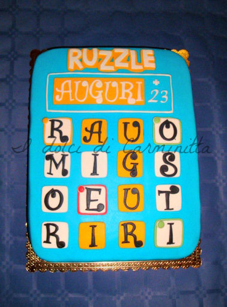 Ruzzle cake by carmen belfiore