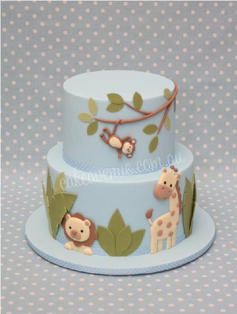 Jungle Cake by CakeAvenue