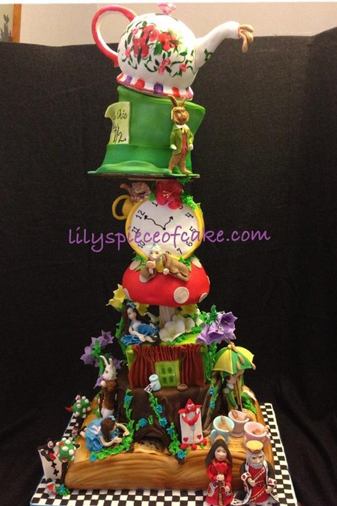 Alice in the Wonderland - 1972 movie version by Lily's Piece of Cake, LLC