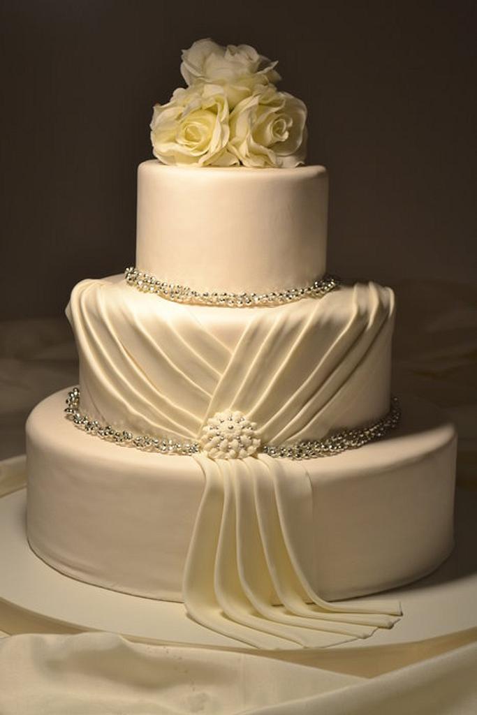 Wedding cake dress by GrammyCake