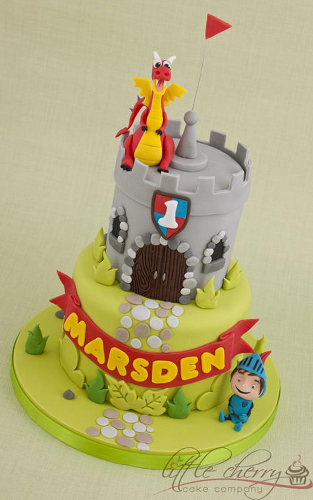 Mike the Knight Castle Cake by Little Cherry