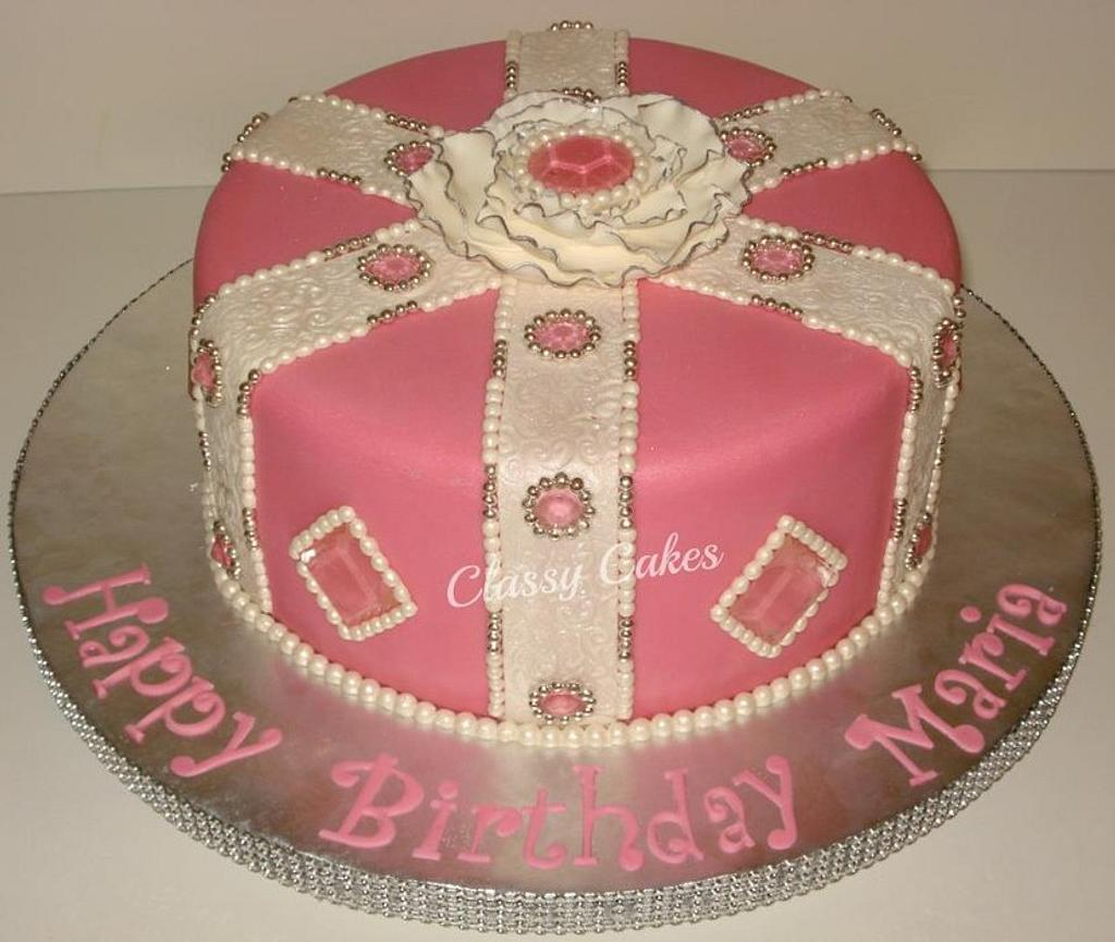 Gems and Pearls by Classy Cakes By Diane