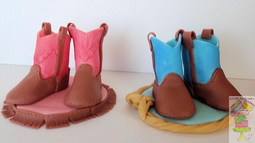 Cowboy and Cowgirl boots toppers by Yari