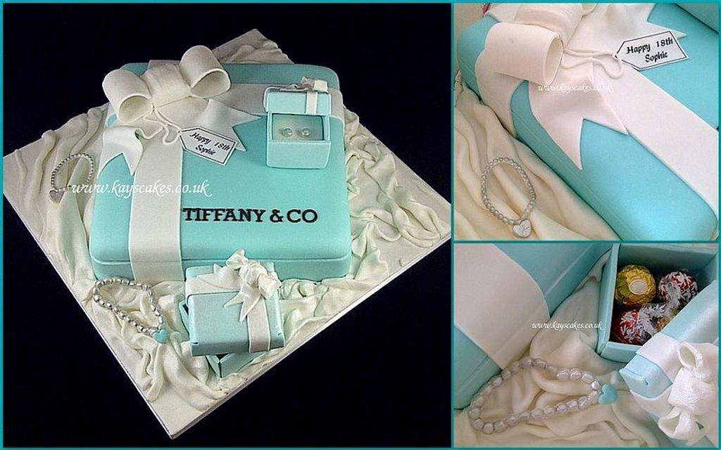 Tiffany Box Cake by Kays Cakes