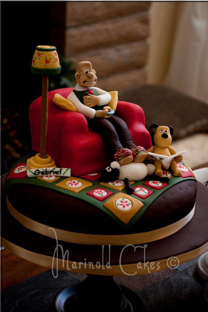 Wallace and Gromit Cake by Mavic Adamos