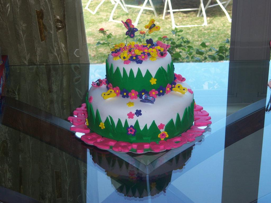 Butterfly Cake by SugarCo