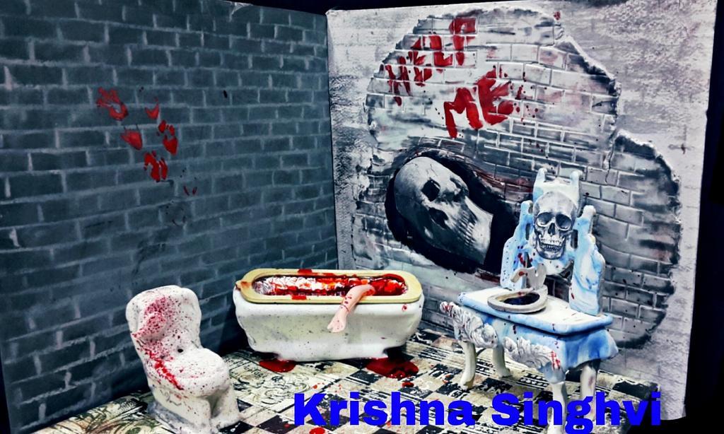 Caker buddies collaboration:sitcom theme:Zee horror show by krishnasinghvi