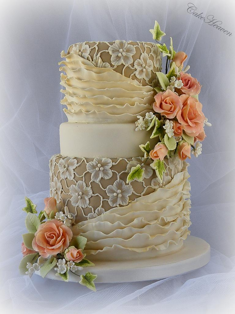 Coffee and Cream Cake by CakeHeaven by Marlene