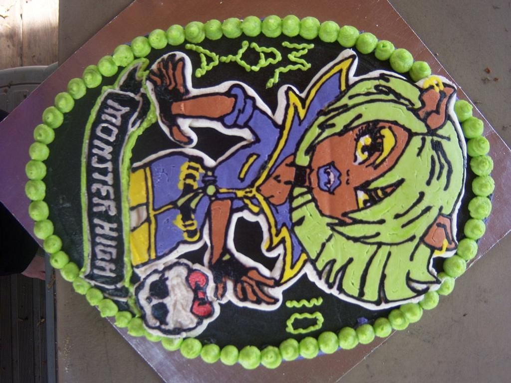 monster high cake by sweettooth