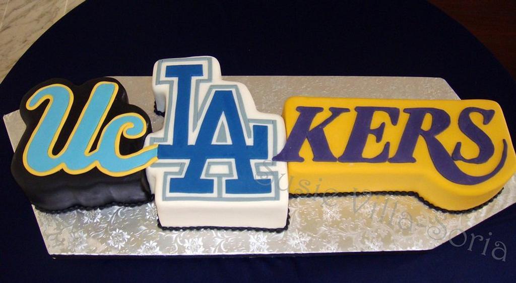 L.A. Groom's Cake by Susie Villa-Soria