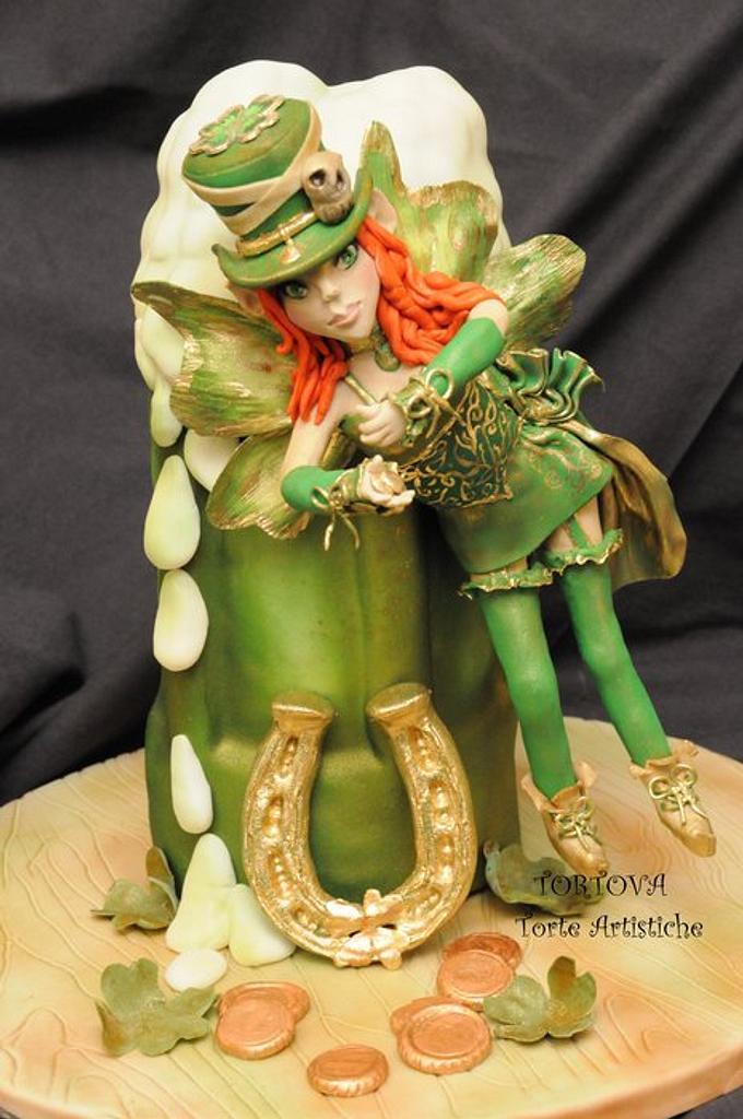St. Patricks Day Cake by Anna