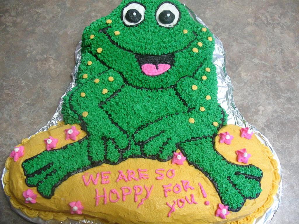 Frog cake by cher45