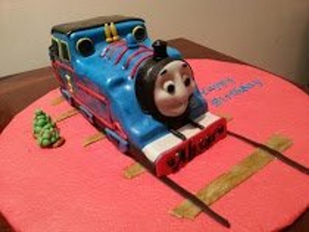 Thomas the tank engine cake by Bake Cuisine