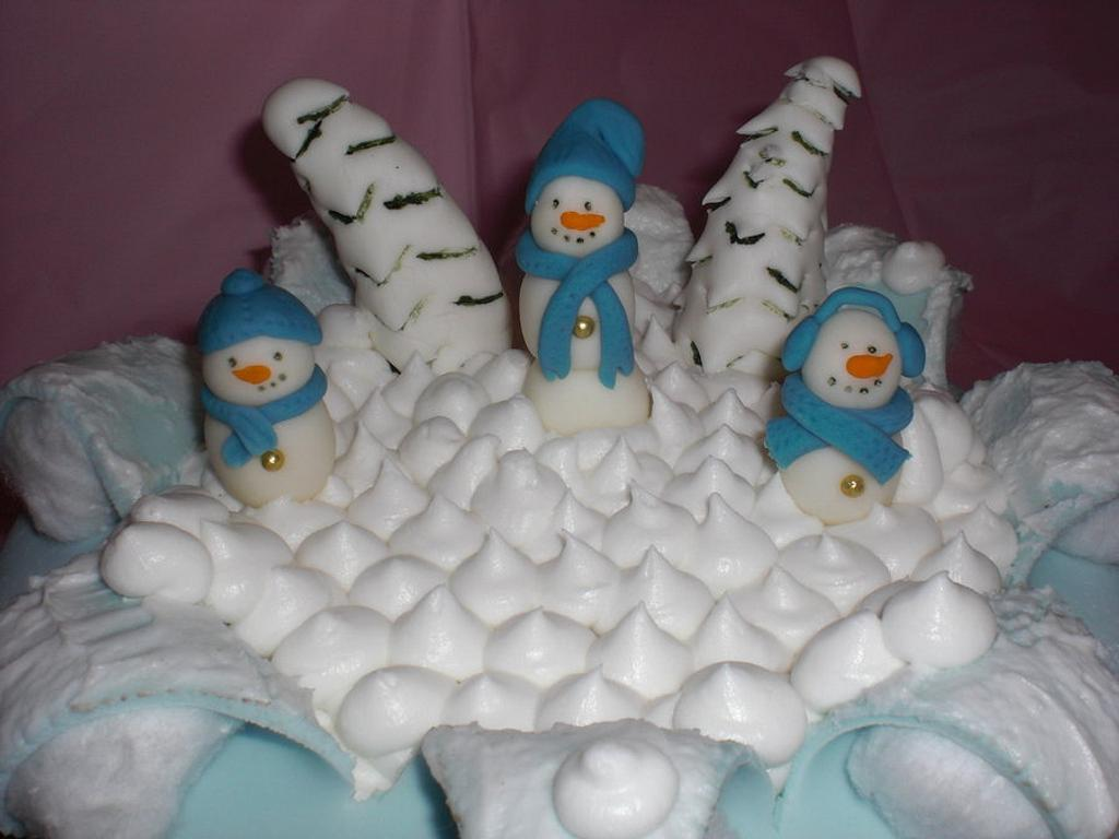 snowmen busting out by Laciescakes