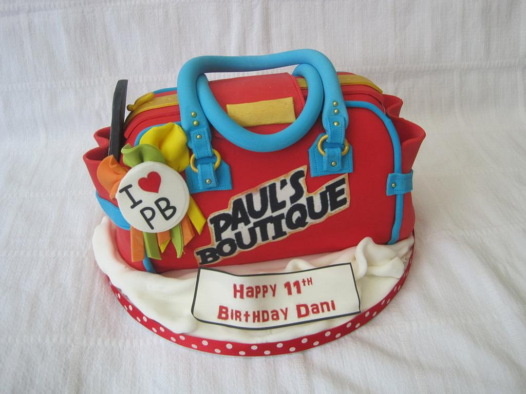 Paul's Boutique bag by Keeley Cakes