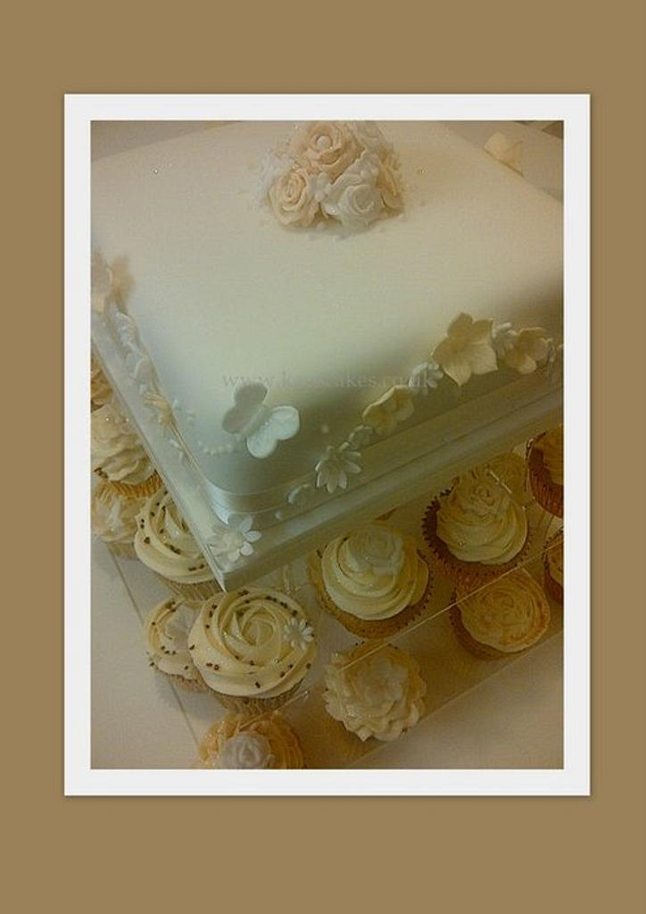 Wedding Cake by Kays Cakes