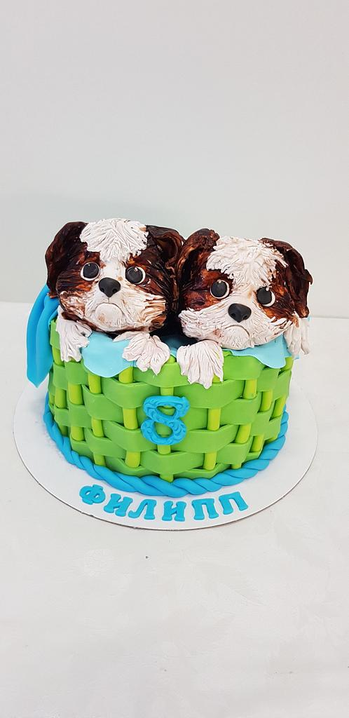Puppies  by Svetlana Hristova